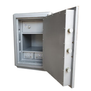 Fireproof Cash Safe With Dual Key Locks