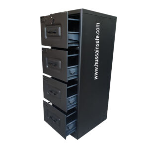 Fire Resistant File Cabinet 4-D With Dual key Lock
