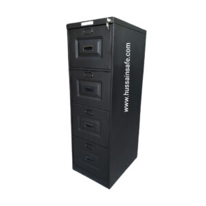 Steel File Cabinet 4-D With Auto Push Lock