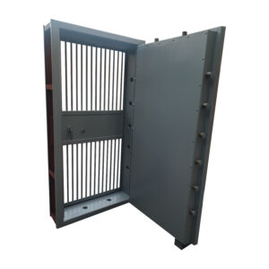 Fireproof Heavy Duty Strong Room Door with Grill