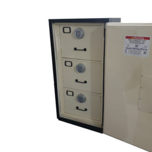 Fire Resistance 3.D File Cabinet With Digital Lock System