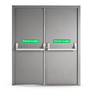 Emergency Exit Door (Double Door) Panic Bars