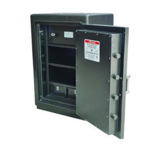 Fireproof Cash Safe With Dual Key Lock Banker System